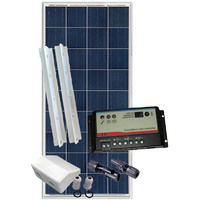 Kit fotovoltaico per camper 150Wp BASE