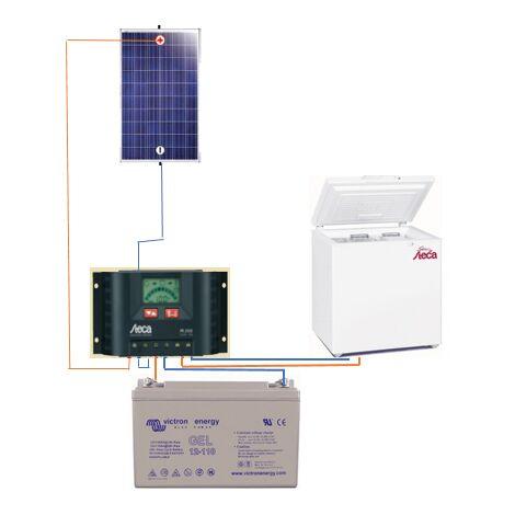 kit frigo solaire STECA 166L