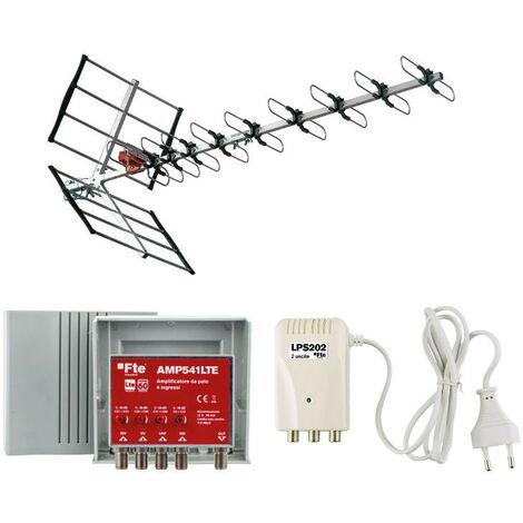Kit FTE Antenne + Alimentation électrique + Amplificateur VKIT4LTE