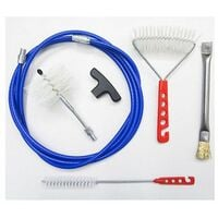 Kit FULL 3 mt professionale pulizia canna fumaria tubo stufa...