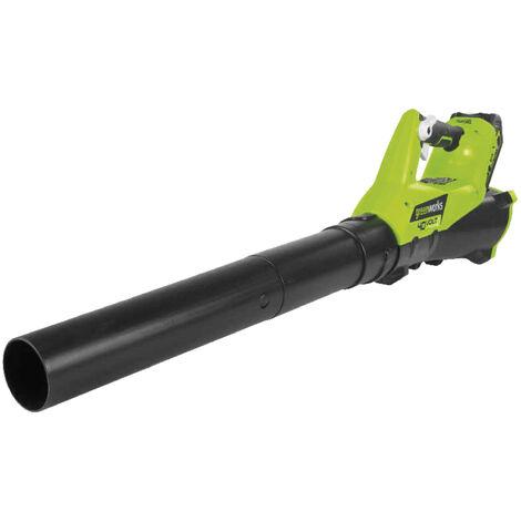Kit Greenworks G40ABK2 Soplador axial 40V con batería 2 Ah y cargador universal