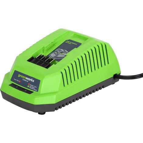 Kit Greenworks G40LM45K4 Cortacésped a batería de 45 cm 40V con batería 4Ah y cargador