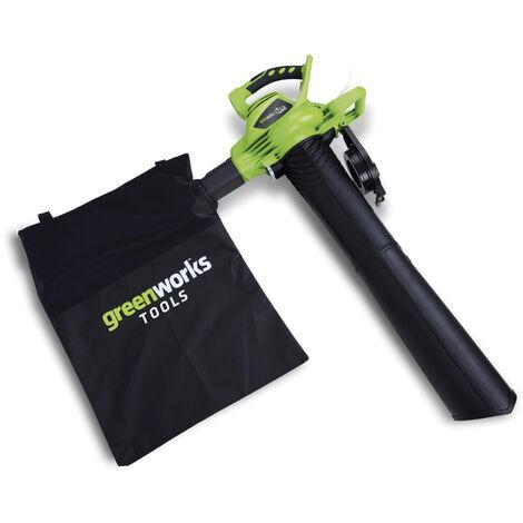 Kit Greenworks GD40BVK4 Soplador aspirador a batería 40V con batería 4 Ah y cargador