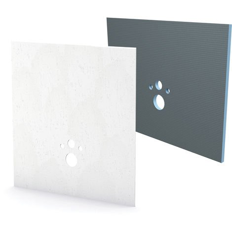 Kit habillage+finition Bâti-support Wedi I-Board pure blanc
