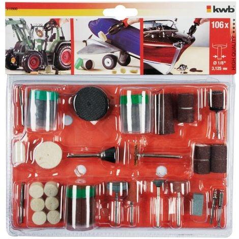 """main image of """"Kit herramientas portabroca 105 piezas KWB 510900"""""""