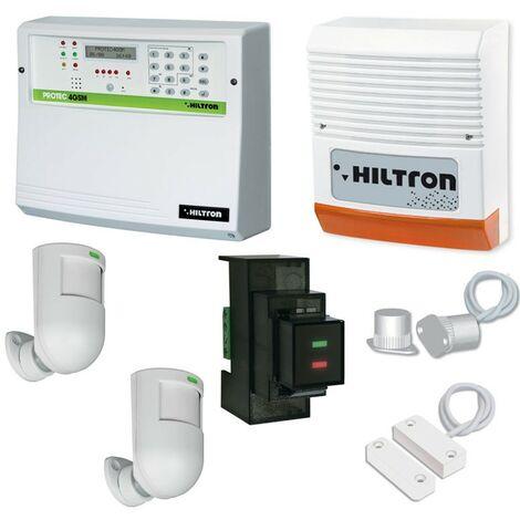 Kit Hiltron centrale protec 4 combinatore GSM ed accessori KPROTEC410GSM