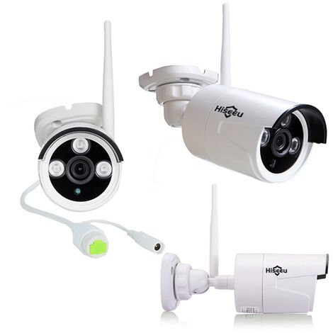 Kit Hiseeu 1080P Wireless CCTV 8CH NVR external IR Night Vision IP Camera WiFi Security Surveillance Mohoo