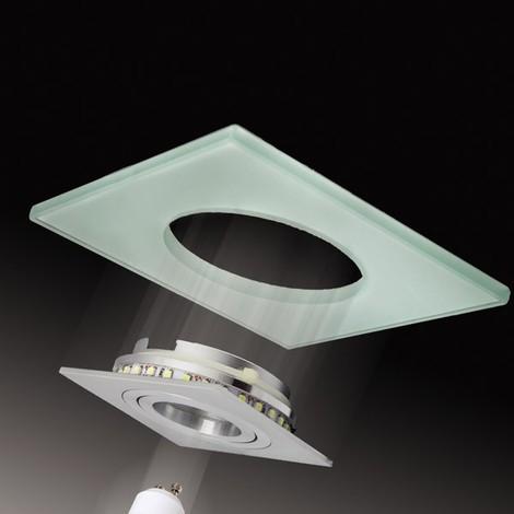 Kit Iceberg aluminio negro (LED Blanco frío)