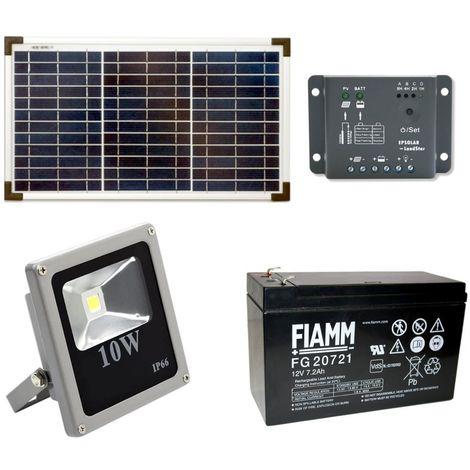 Flusso solare-set 30 Watt con LED