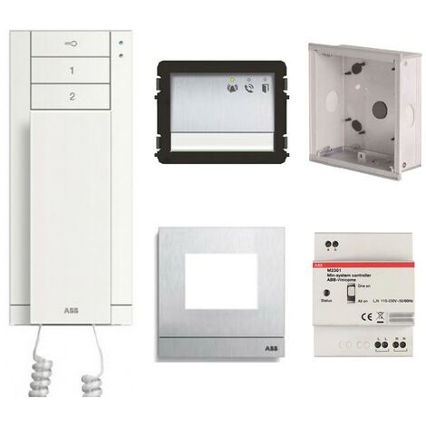Kit Interphone ABB Monofamiliial Startkit Audio M20001 WLK101B