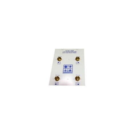 KIT INYECTORES COCINA ESTANDARD M-6 GAS NATURAL (90-106-106-134)