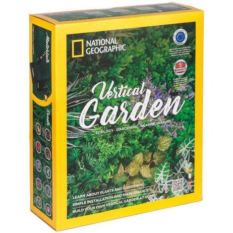 Kit Jardín vertical National Geographic