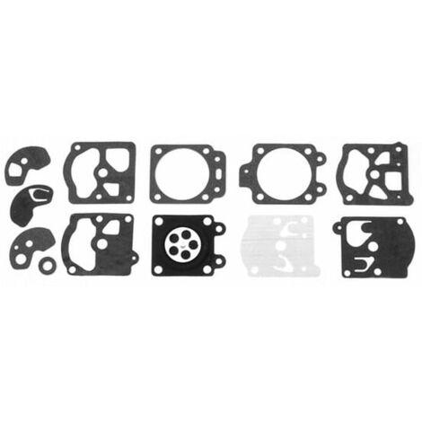 Kit joints carburateur d10-wat walbro pour Carburateur Walbro, Debroussailleuse Ryobi, Coupe bordures Ryobi, Souffleur a feuilles Ryobi, Debroussaille