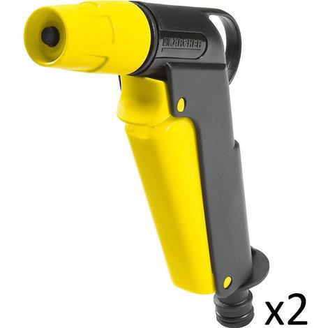Kit Karcher de 2 Pistolets d'arrosage à jet ajustable - 2.645-105.0