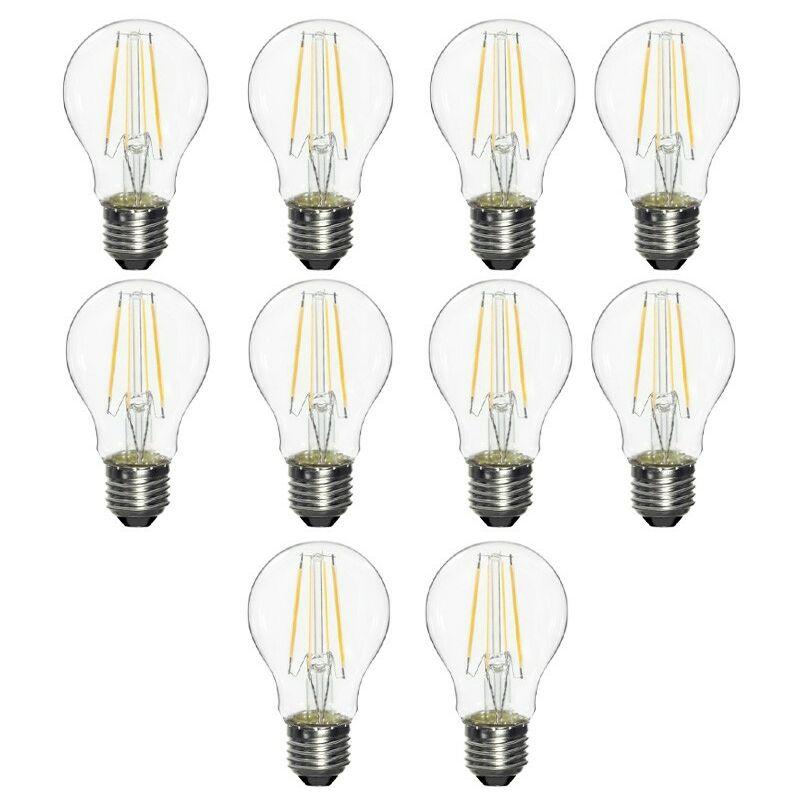 Kit Lampadine a Goccia filamento LED Osram 10W E27 4000K VCA100840CG9