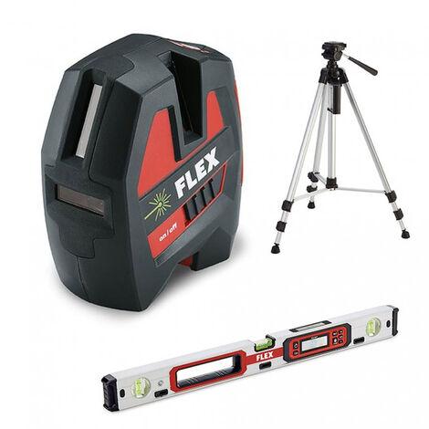 Kit laser vert croix ALC 3/1-G + Trépied + Niveau ADL 60-P FLEX - 497282