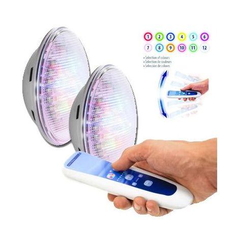 1100 Lumens1 Lampes 2 Kit Télécommande Lumiplus Led D2Y9WEIH