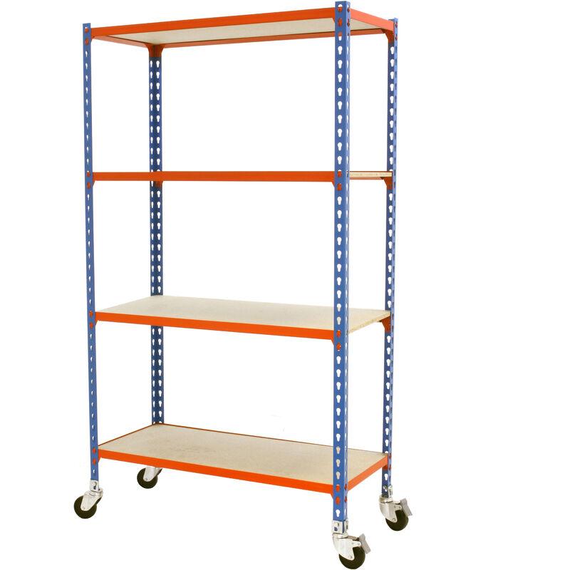 Kit Maderclick Mobile 4/300 1500 Azul/Naranja/Made