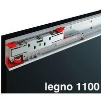 kit magic 2 per porta legno fino a cm. 110 scorrevole binario invisibile