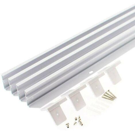 Kit marco Blanco para instalar Panel Led 60x60cm en superficie