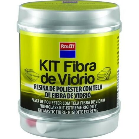 KIT MASILLA TELA FIBRA + ENDURECEDOR 14492