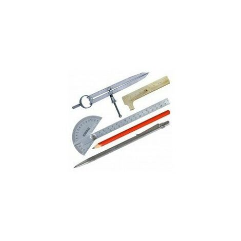 Kit mesure tracage 5 outils sc71201