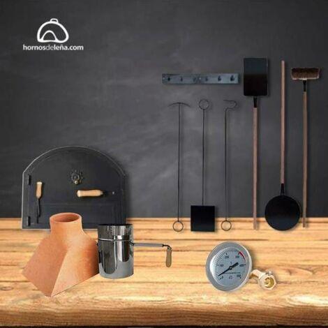 Kit metálico básico para contrucción de horno de leña