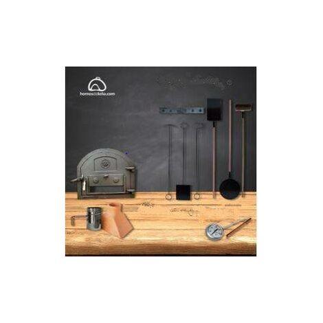 6903bf2d2de9 Kit metálico exclusivo para horno de leña - 1102