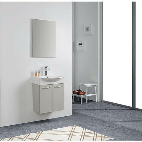 Kit meuble lave-mains Mini 50 couleur: gris