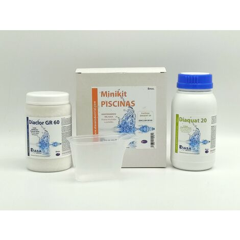 Kit Mini Piscinas DS: especial mantenimiento piscinas hinchables o portátiles.