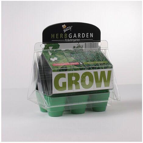 Kit mini serre à semis herbes aromatiques - Astuceo