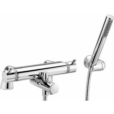 Kit mitigeur thermostatique bain/douche sur rebord Kos