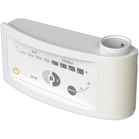 Kit mixte électrique 300W pour sèche-serviettes - Boîtier digital blanc