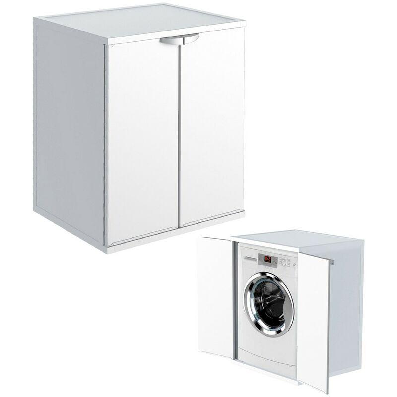 Armadio Per Lavatrice Balcone.Kit Mobile Copri Lavatrice Da Esterno Resina Mobiletto Per Asciugatrice Plastica 13942mm