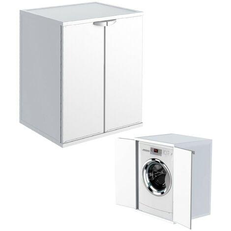 Mobili Per Lavatrici Ad Incasso.Kit Mobile Copri Lavatrice Da Esterno Resina Mobiletto Per