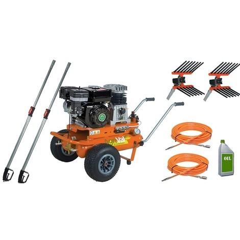 Kit Motocompressore/Abbacchiatore AgriVal Oli DUE PRO