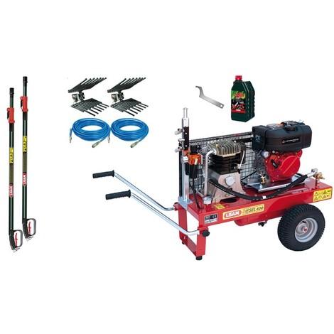 Kit Motocompressore/Abbacchiatore Lisam Diesel 2 Operatori
