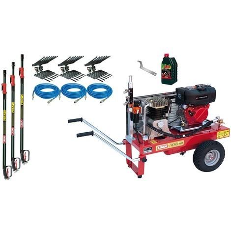 Kit Motocompressore/Abbacchiatore Lisam Diesel 3 Operatori