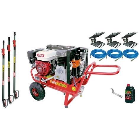 Kit Motocompressore/Abbacchiatore Lisam Professional 3 Operatori