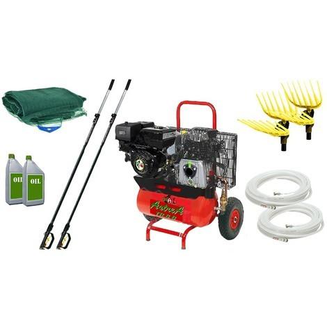 Kit Motocompressore/Abbacchiatore TrinAgria Gea TR 8 KG