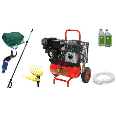 Kit Motocompressore/Abbacchiatore TrinAgria Olympo TR 6 K