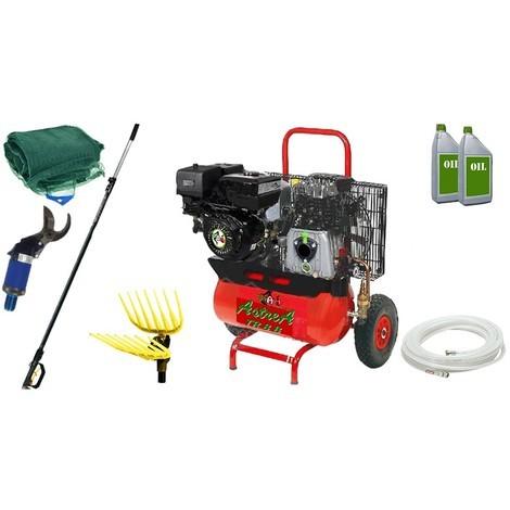 Kit Motocompressore/Abbacchiatore TrinAgria Saturno TR 8 K