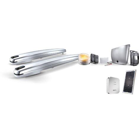 Kit motorisation portail battant Exavia 500 avec alimentation solaire - Somfy - {couleurs}