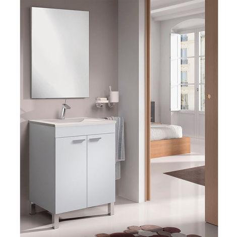 Conjunto de baño LC1 blanco 60cm 2P