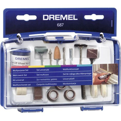 Kit multi-usage Dremel 687