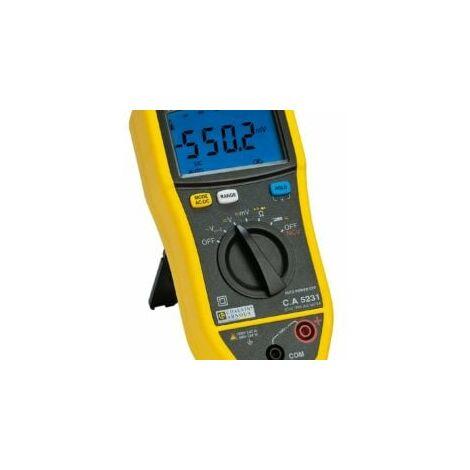 Kit multimètre numérique CA5231 + pince MINI03 - Chauvin-Arnoux