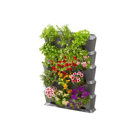 Kit mur végétal avec arrosage intégré - 15 modules