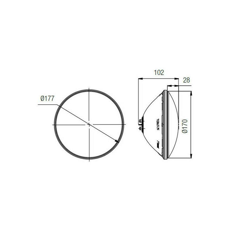 N°1 LmTélécommande Led X Rgb 1100 Lampe Lumiplus 1 Par56 Kit tshdCrQ