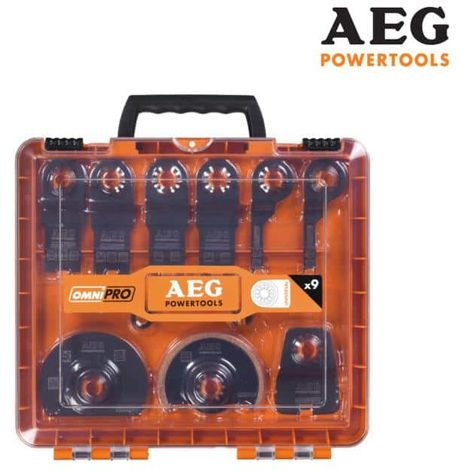 Kit of 11 multitool blades and accessories AEG 4932430314