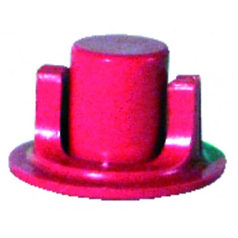 Kit of direct couplings diffpratic red (X 6)